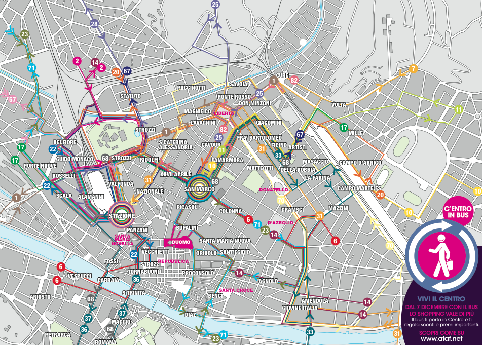 New-florence-bus-map