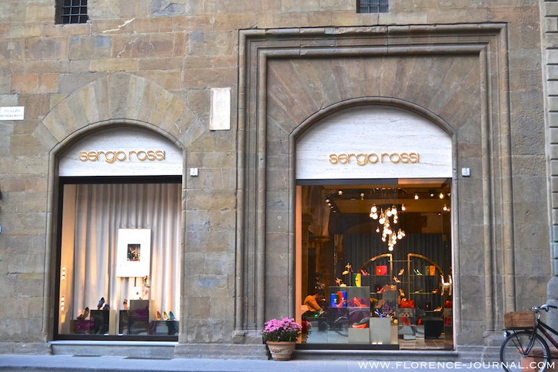 Sergio Rossi boutique Florence