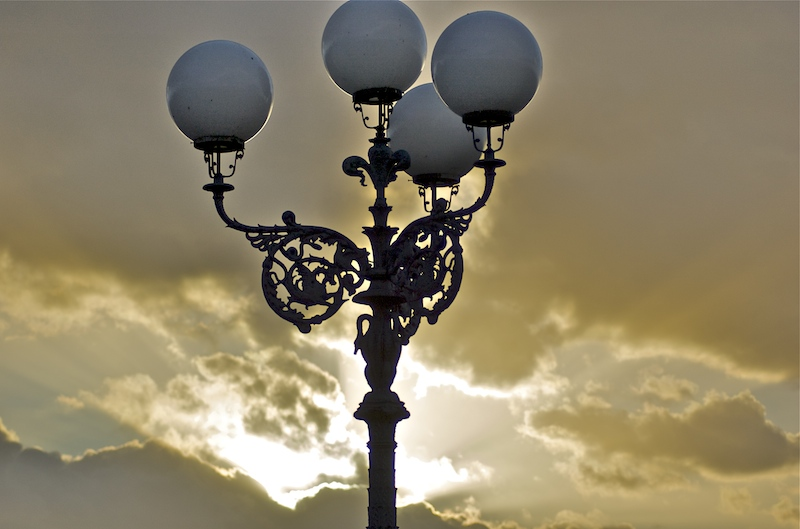 Street Lamps at Piazzale Michelangelo, Florence
