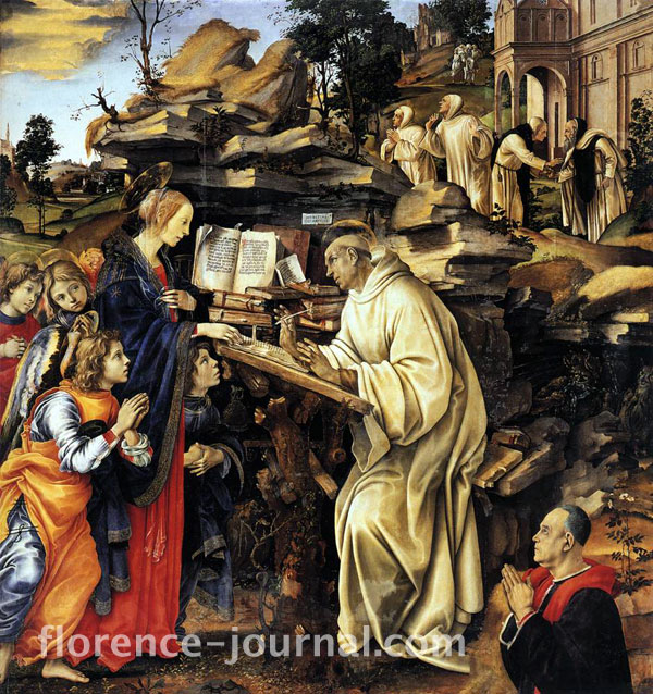 Vision of St. Bernard